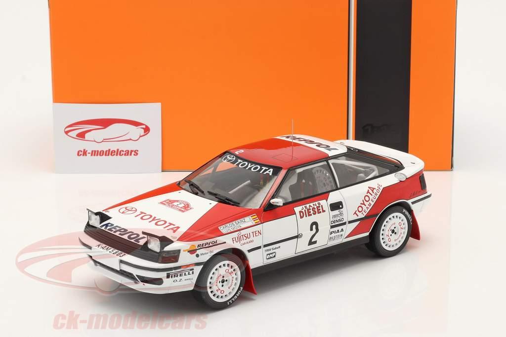 Toyota Celica GT-4 (ST165) #2 3rd Rallye San Remo 1990 Sainz, Moya 1:18 Ixo