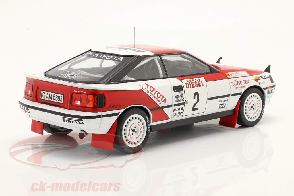 Toyota Celica GT-4 (ST165) #2 3. Rallye San Remo 1990 Sainz, Moya 1:18 Ixo