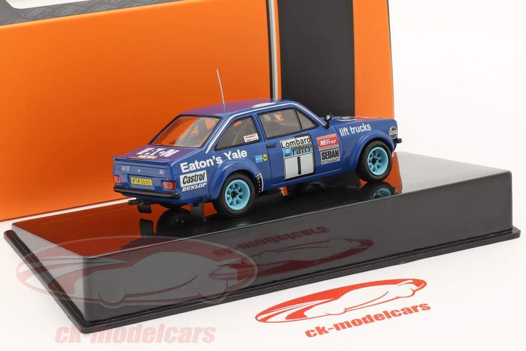 Ford Escort RS 1800 MK II #1 gagnant Lombard RAC Rallye 1979 Mikkola, Hertz 1:43 Ixo