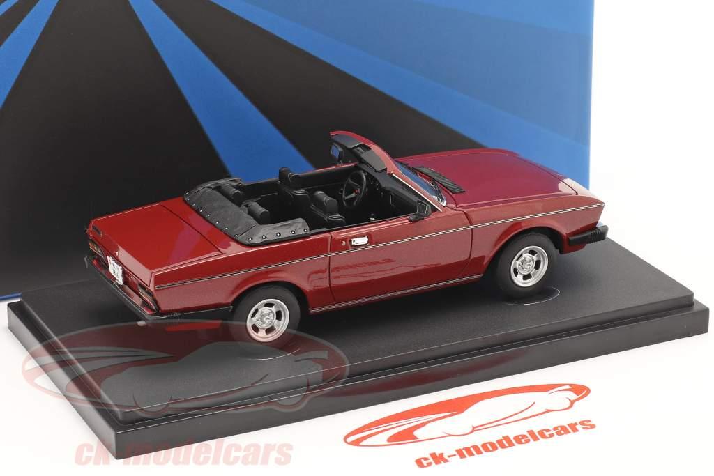 Monteverdi Sierra C Byggeår 1978 mørk Rød 1:43 AutoCult