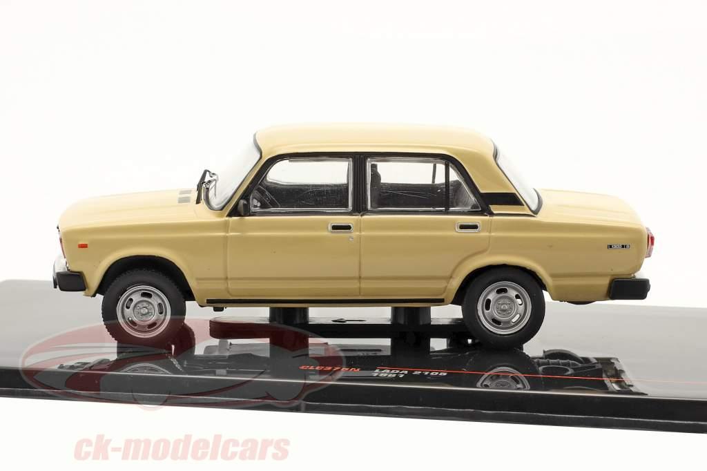 Lada 2105 Année de construction 1981 beige 1:43 Ixo