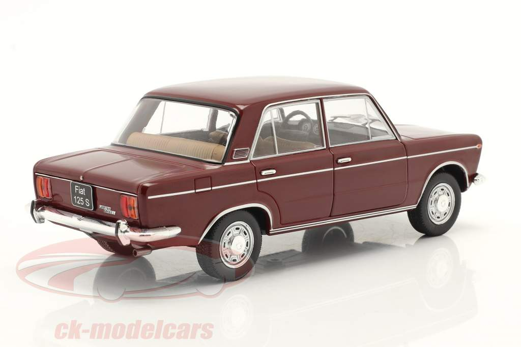 Fiat 125 Special foncé rouge 1:24 WhiteBox