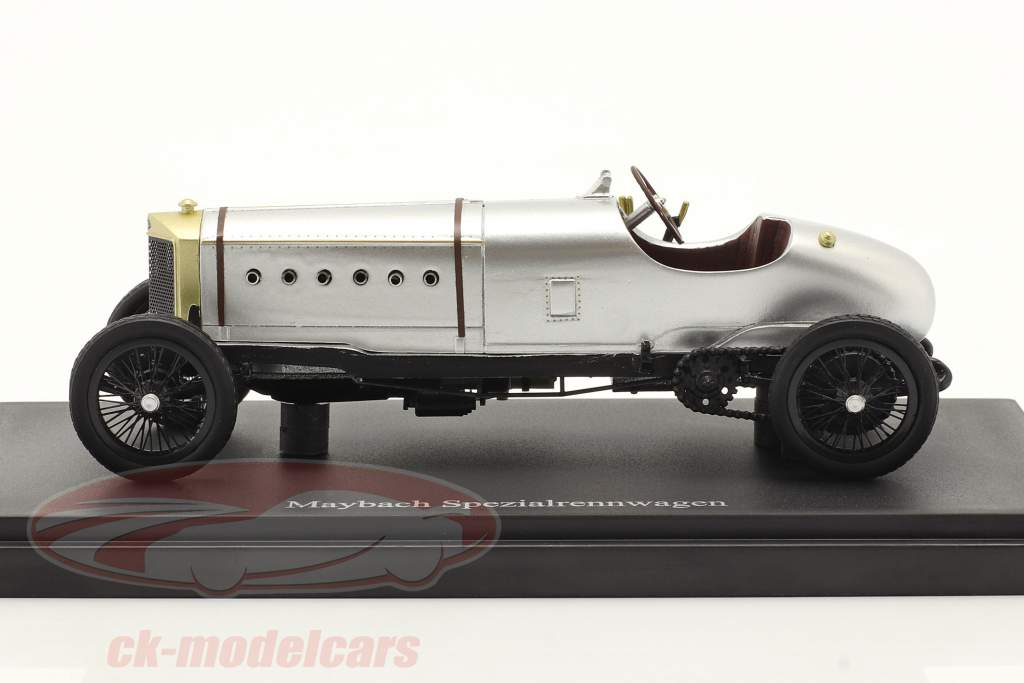 Maybach Special racing car year 1920 silver 1:43 AutoCult