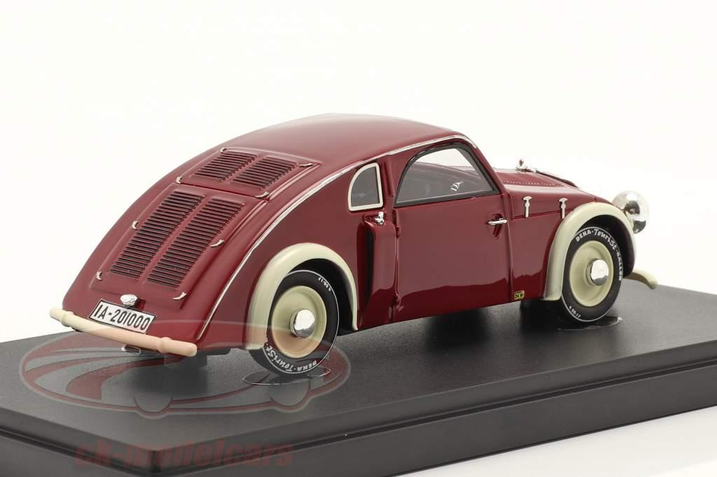 DKW GM Spezial Byggeår 1936 mørk Rød 1:43 AutoCult