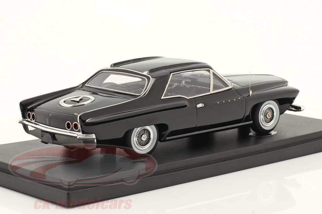Dodge Flitewing Concept Car 1961 negro 1:43 AutoCult