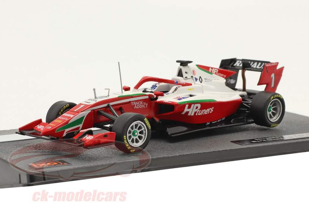 Oscar Piastri Dallara G319 #1 Barcelona GP formula 3 champion 2020 1:43 Ixo