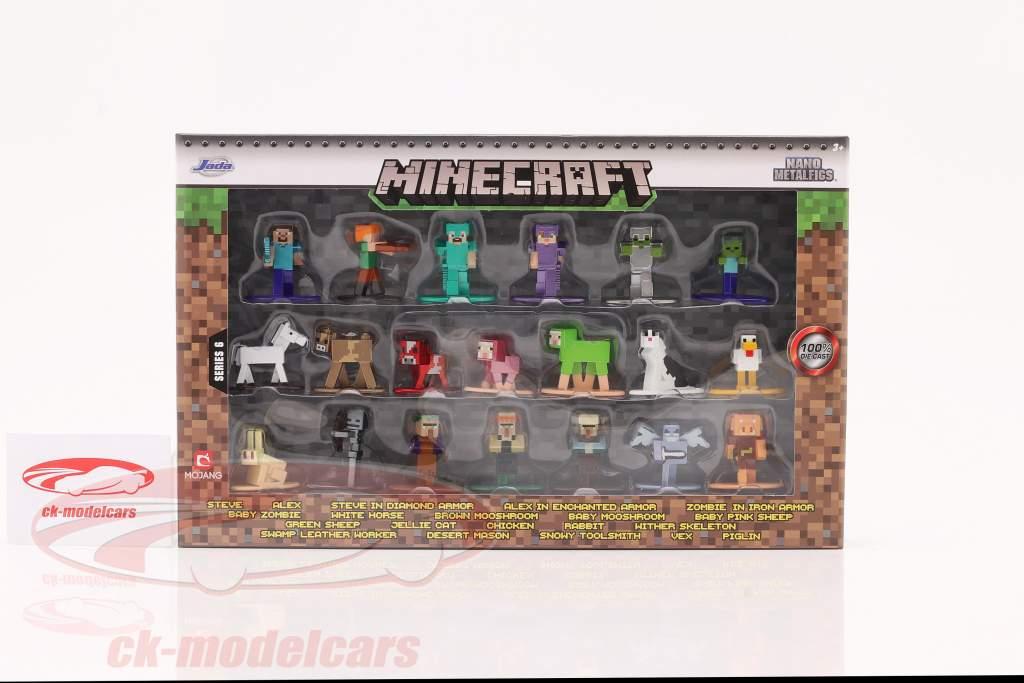 Minecraft Set 20 characters series 6 Jada Toys