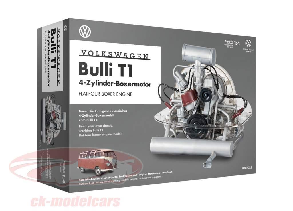 Volkswagen VW Bulli T1 4-Zylinder-Boxermotor 1950-1953 Bausatz 1:4 Franzis
