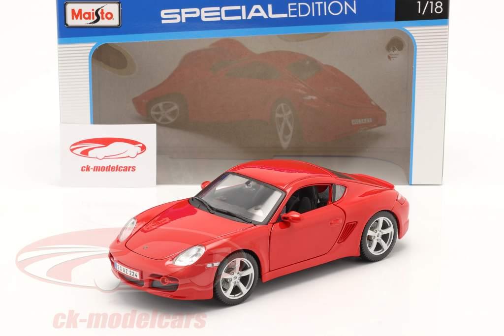 Porsche Cayman S rouge 1:18 Maisto