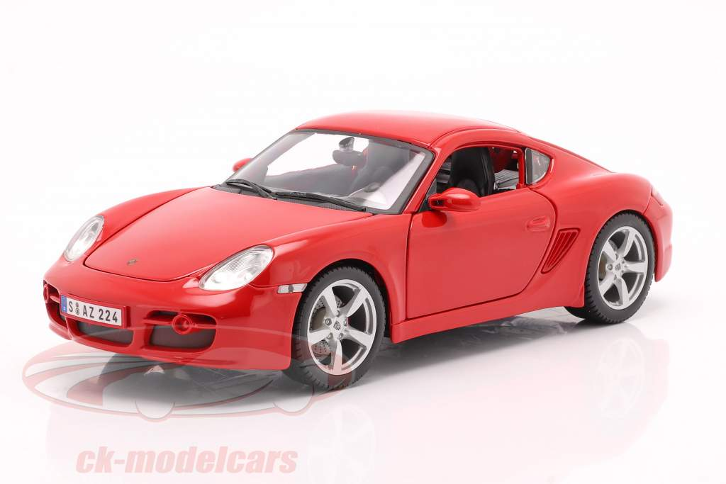 Porsche Cayman S rot 1:18 Maisto