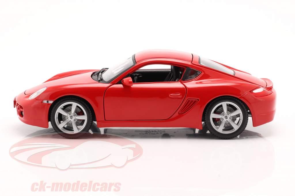 Porsche Cayman S Red 1:18 Maisto