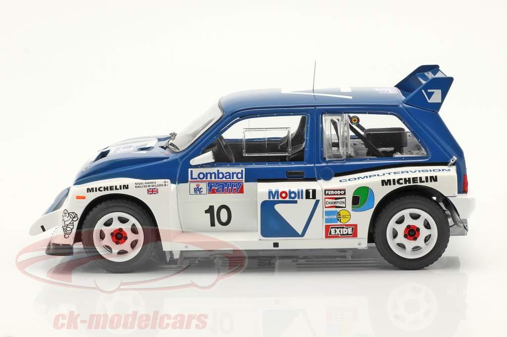 MG Metro R4 #10 RAC Rallye 1986 Wilson, Harris 1:18 Ixo