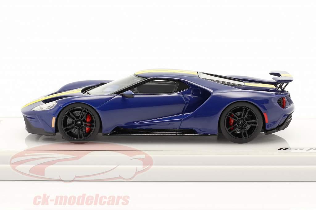 Ford GT Sunoco bleu / jaune 1:43 TrueScale