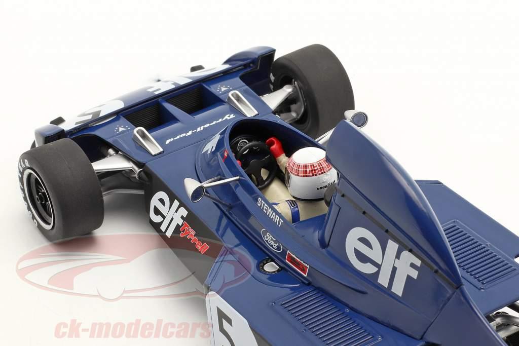 J. Stewart Tyrrell 006 #5 ganador Monaco fórmula 1 Campeón mundial 1973 1:18 Model Car Group