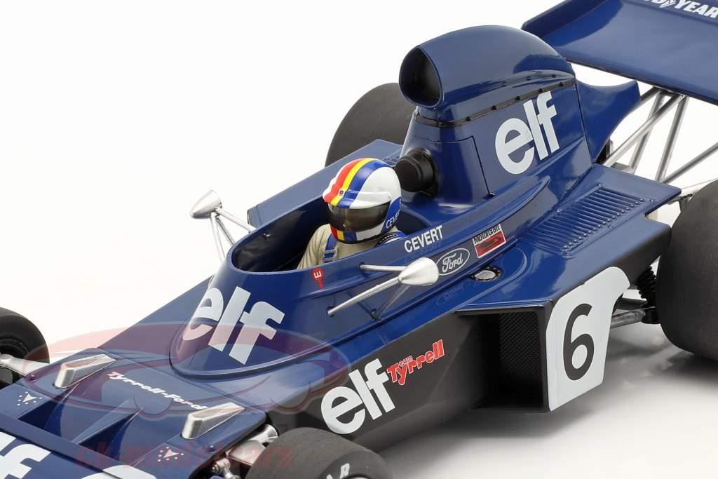 Francois Cevert Tyrrell 006 #6 2nd Belgien GP Formel 1 1973 1:18 Model Car Group