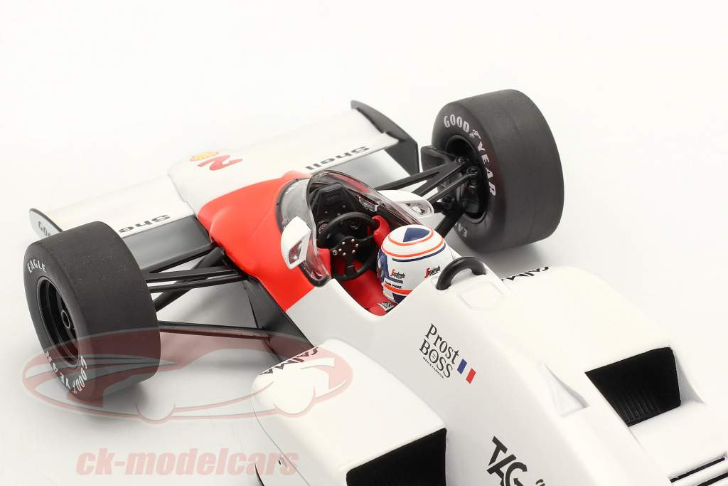 A. Prost McLaren MP4/2B #2 ganador Mónaco fórmula 1 Campeón mundial 1985 1:18 Model Car Group