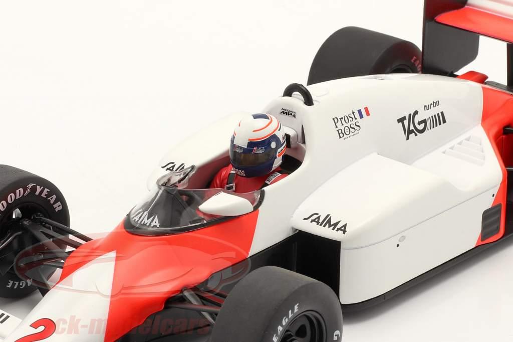 A. Prost McLaren MP4/2B #2 Winner Monaco formula 1 World Champion 1985 1:18 Model Car Group