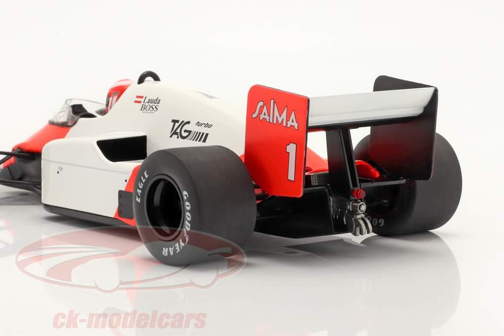 Niki Lauda McLaren MP4/2B #1 gagnant néerlandais GP formule 1 1985 1:18 Model Car Group