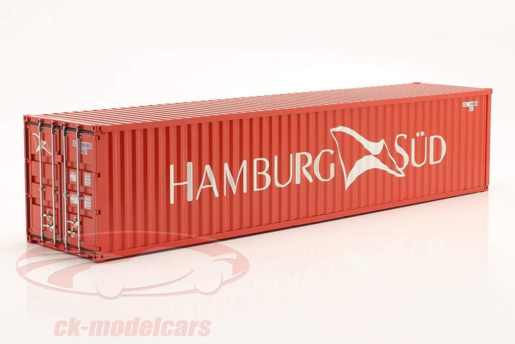 40 FT Récipient Hamburg Süd 1:18 NZG
