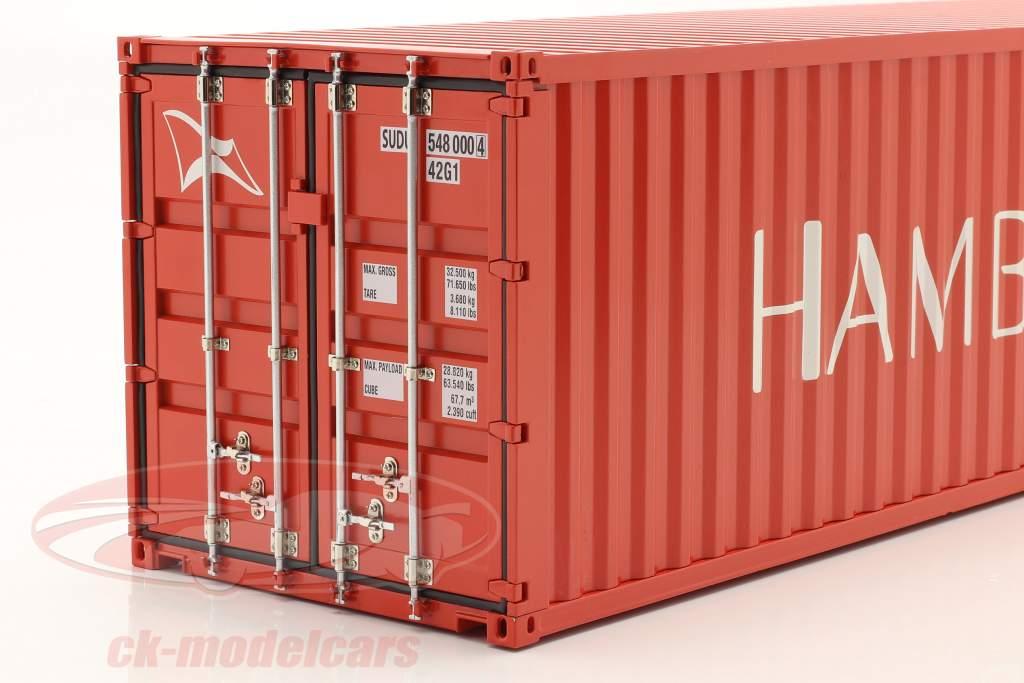 40 FT Container Hamburg Süd 1:18 NZG