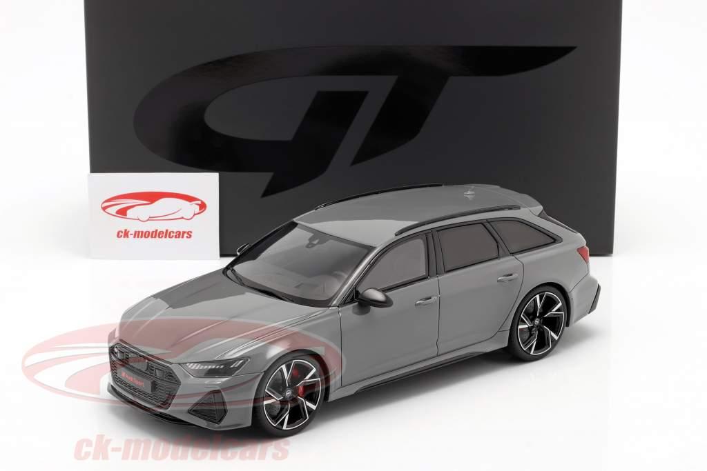 Audi RS6 Avant C8 Baujahr 2020 nardo grau 1:18 GT-SPIRIT