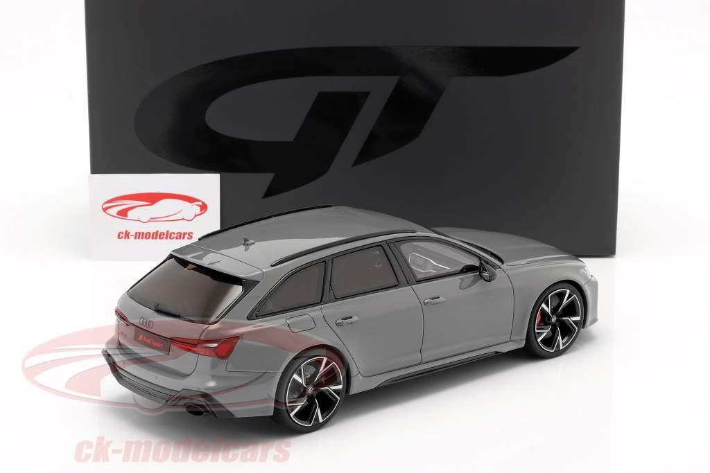 Audi RS6 Avant C8 Byggeår 2020 nardo Grå 1:18 GT-SPIRIT