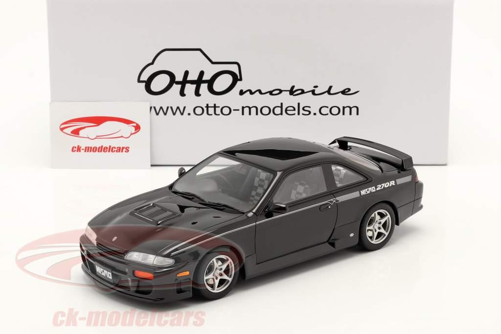Nissan Silvia 270R (S14) Coupe year 1994 black 1:18 OttOmobile