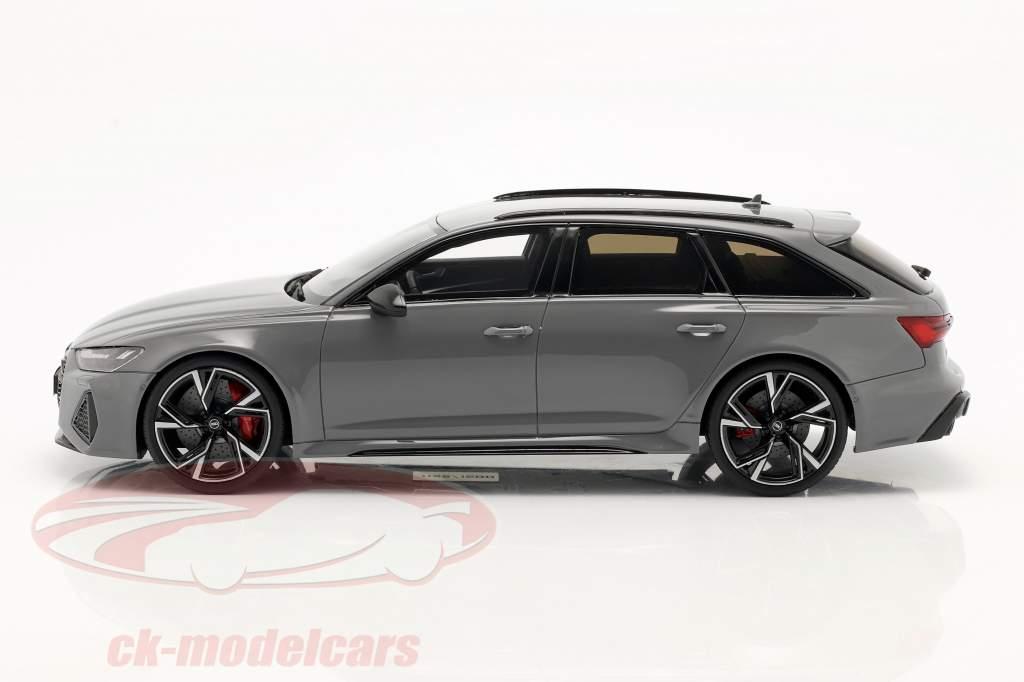 Audi RS6 Avant C8 Año de construcción 2020 nardo gris 1:18 GT-SPIRIT