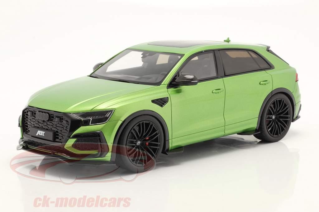 Audi RSQ8-R ABT Byggeår 2020 Java grøn metallisk 1:18 GT-SPIRIT
