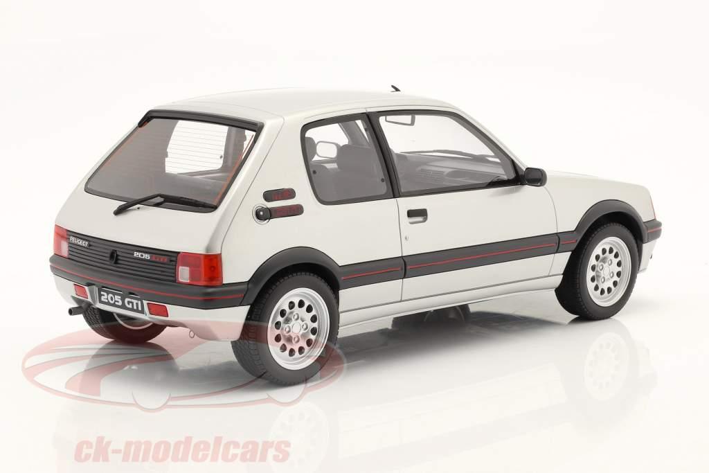 Peugeot 205 GTI 1.6 Año de construcción 1984 futura gris 1:12 OttOmobile