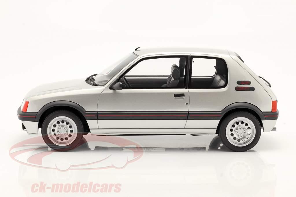 Peugeot 205 GTI 1.6 Baujahr 1984 futura grau 1:12 OttOmobile