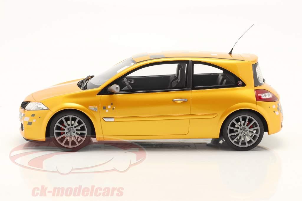 Renault Megane RS F1 Team Edition Année de construction 2002 jaune 1:18 OttOmobile