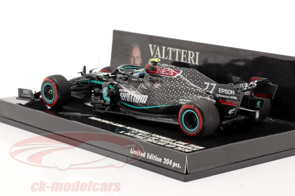 Valtteri Bottas Mercedes-AMG F1 W11 #77 2nd Tuscan GP F1 2020 1:43 Minichamps