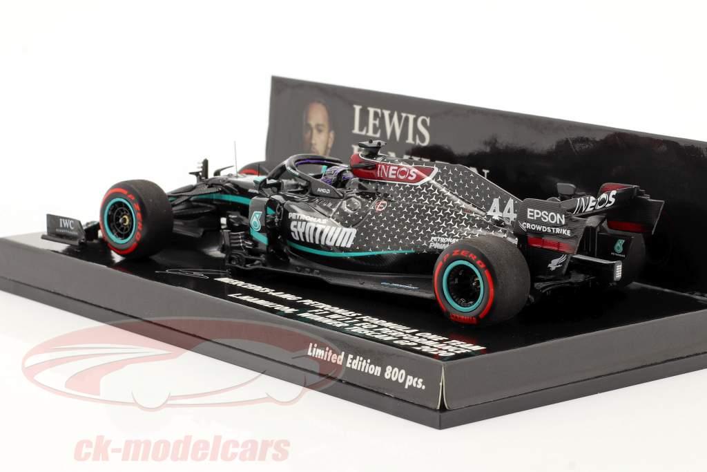 L. Hamilton Mercedes-AMG F1 W11 #44 Champion du monde Toscane GP F1 2020 1:43 Minichamps