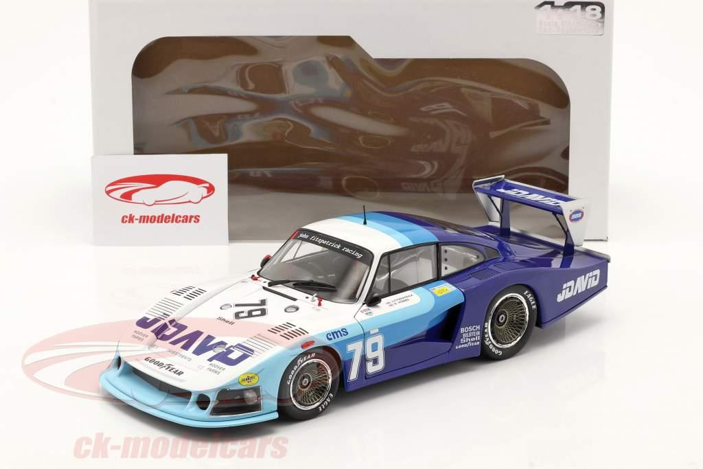 Porsche 935 Moby Dick #79 4e 24h LeMans 1982 Fitzpatrick, Hobbs 1:18 Solido
