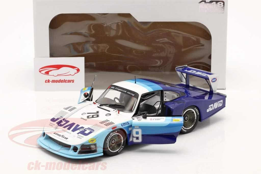 Porsche 935 Moby Dick #79 Cuarto 24h LeMans 1982 Fitzpatrick, Hobbs 1:18 Solido