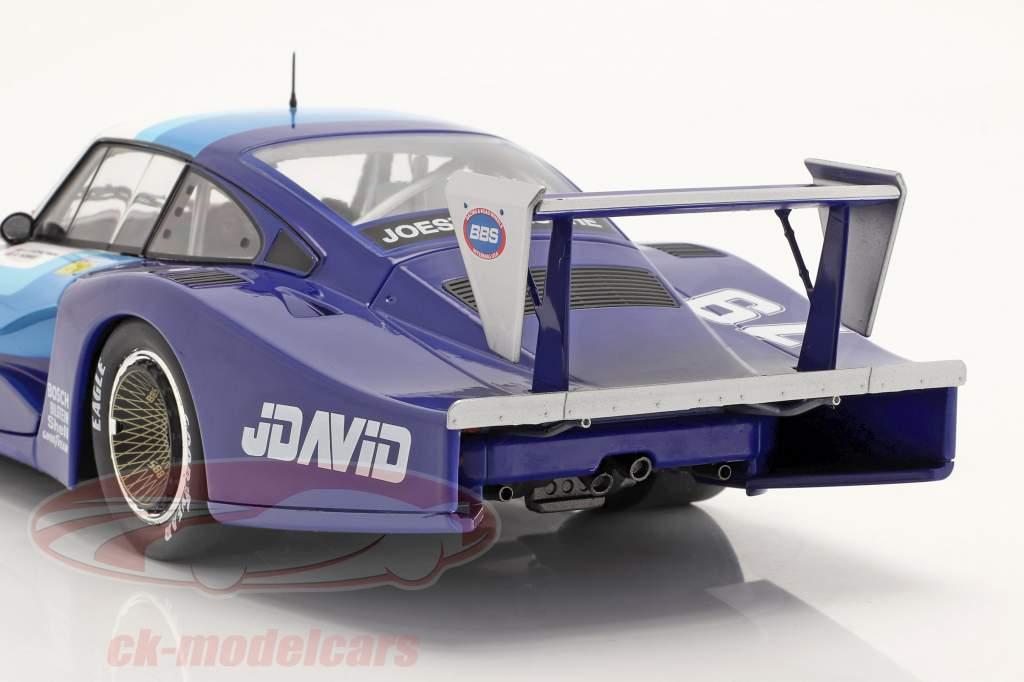 Porsche 935 Moby Dick #79 4th 24h LeMans 1982 Fitzpatrick, Hobbs 1:18 Solido