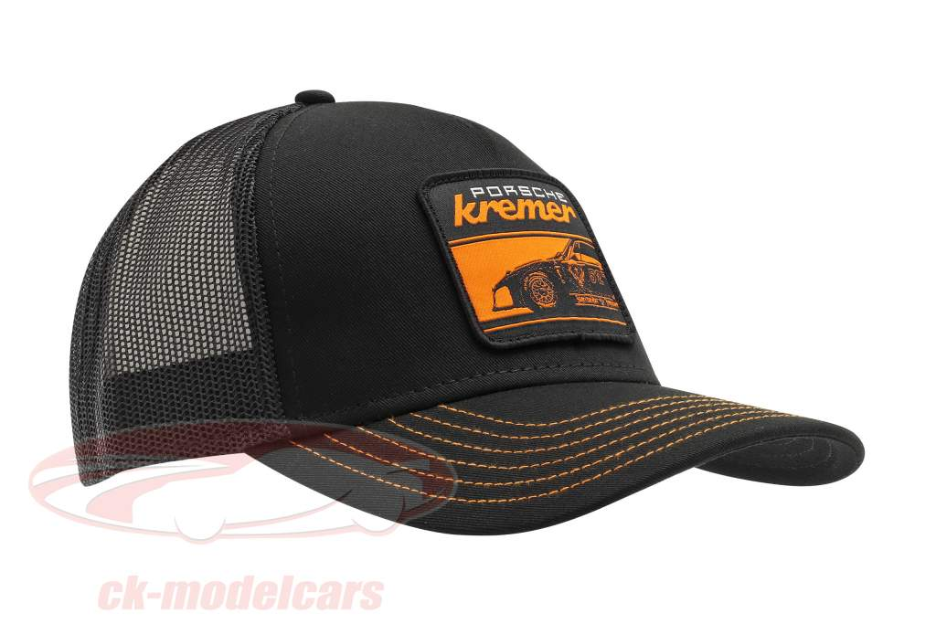 Kremer Racing Gorra Jäger Porsche 935 K3 negro / naranja