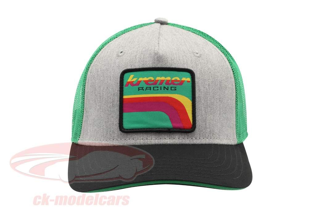 Kremer Racing Cap Team Vaillant schwarz / grau / grün