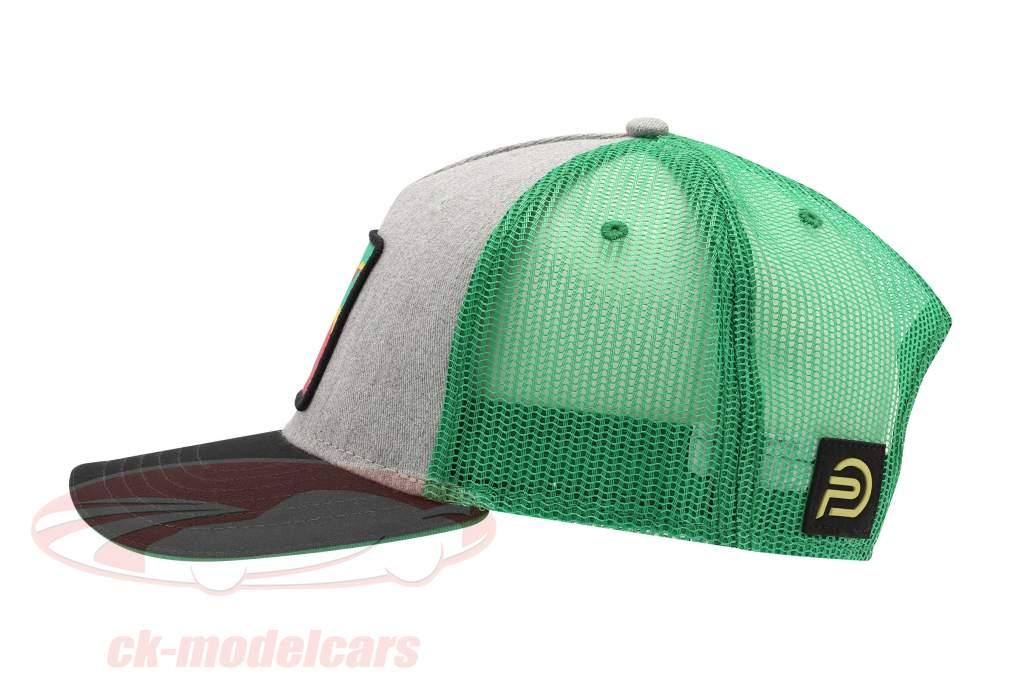 Kremer Racing Cap Team Vaillant black / grey / green