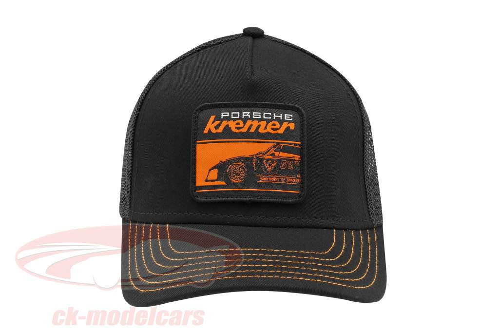 Kremer Racing Cap Jäger Porsche 935 K3 schwarz / orange