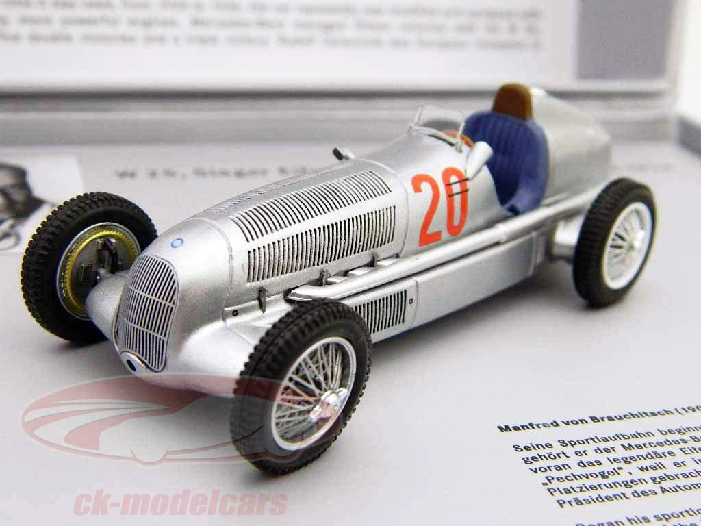 Mercedes Benz W25 Silberpfeil #20 v. Brauchitsch Formel 1 1934 1:43 Minimax
