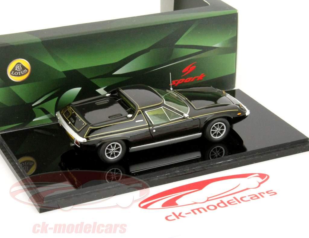Lotus Europa especial ano de 1972 preto / preto faísca 1:43