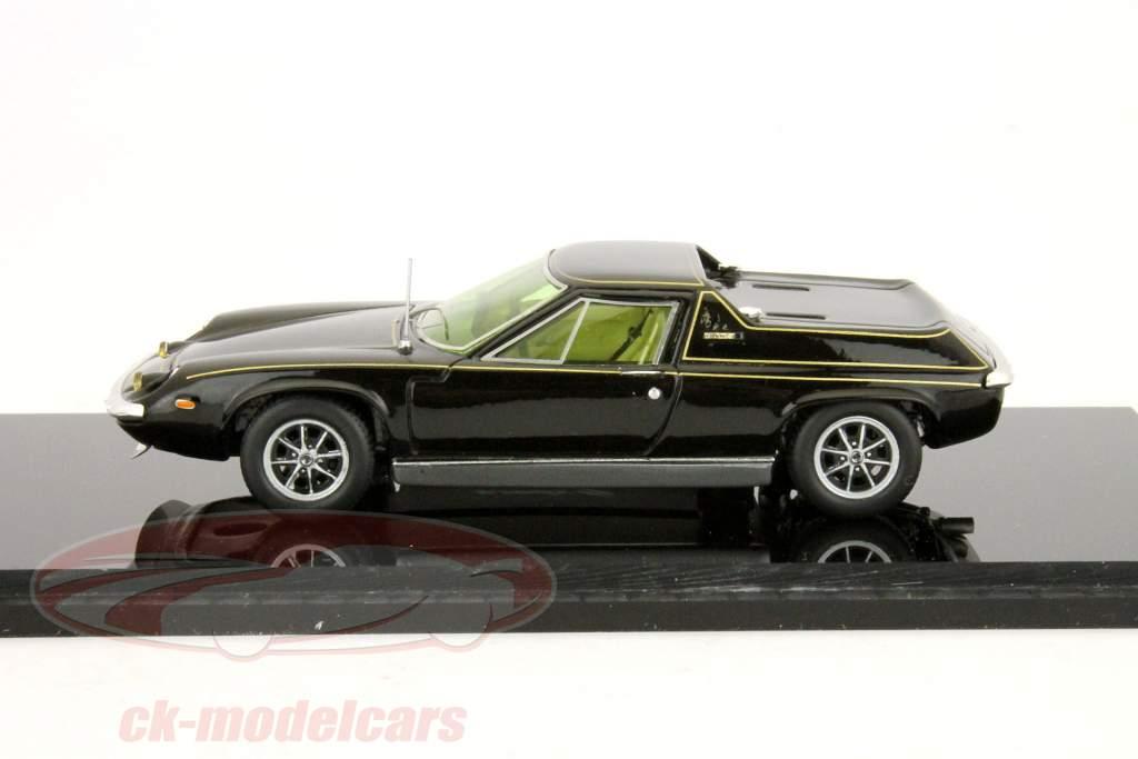 Lotus Europa Special año 1972 negro / negro Spark uno y cuarenta y tres