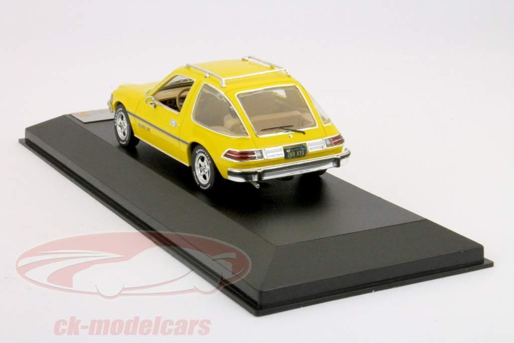 AMC Pacer X construido en 1975 amarilla 1:43 premium X