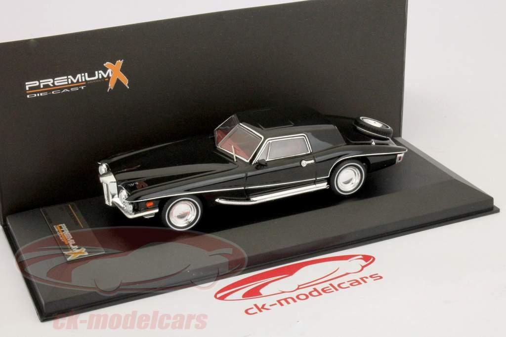 Stutz Blackhawk Coupe Año de construcción 1971 1:43 prima negro X