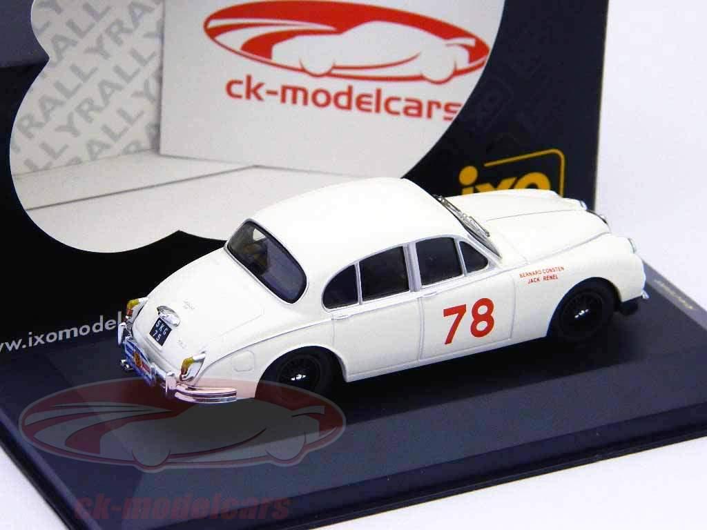 Jaguar MKII #78 winnaar Tour de France 1960 1:43 Ixo