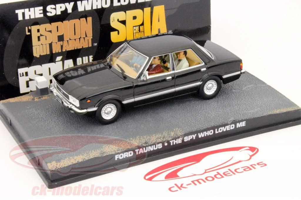Ford Taunus Car James Bond filmen The Spy som elskede mig 1:43 Ixo