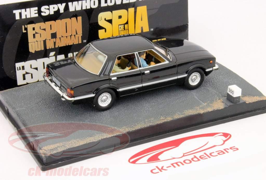 Ford Taunus Car James Bond movie The Spy who loved me 1:43 Ixo