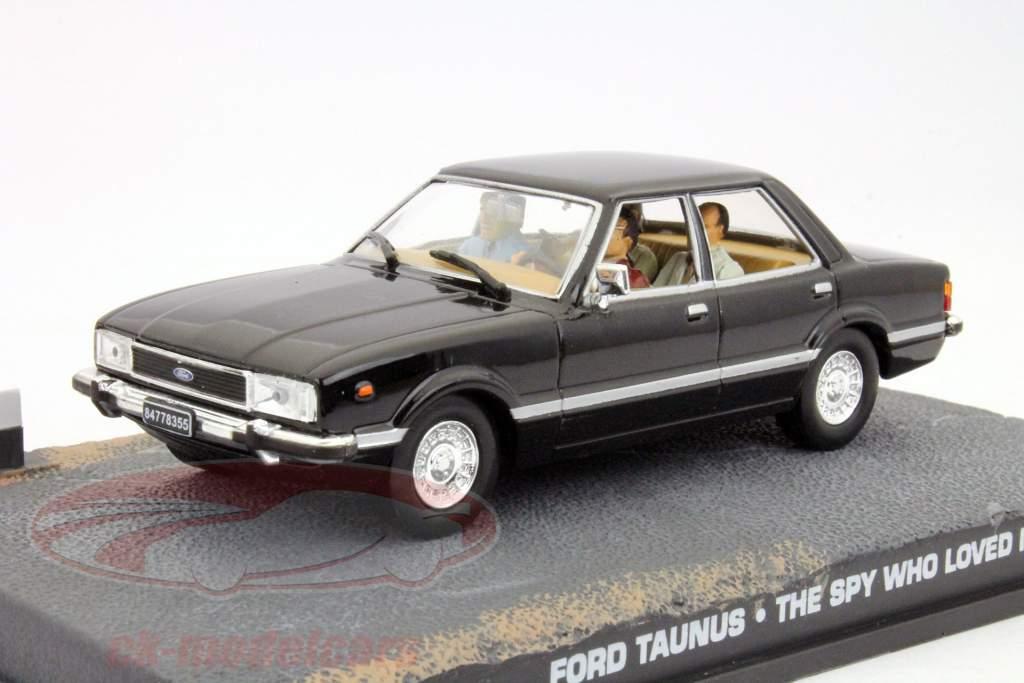 Ford Taunus James Bond Movie Car Der Spion der mich liebte 1:43 Ixo